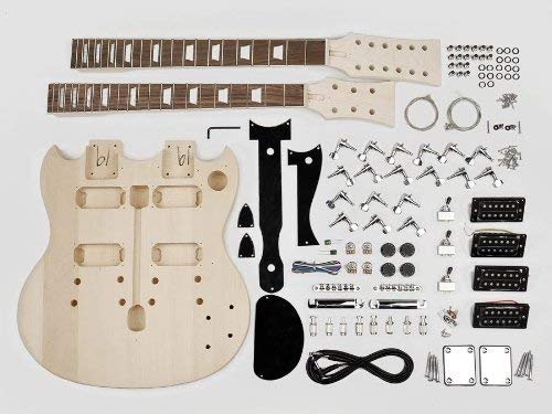 Double Neck SG Style Guitar Assembly Kit
