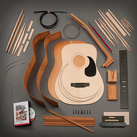 StewMac Dreadnought Acoustic Guitar Kit