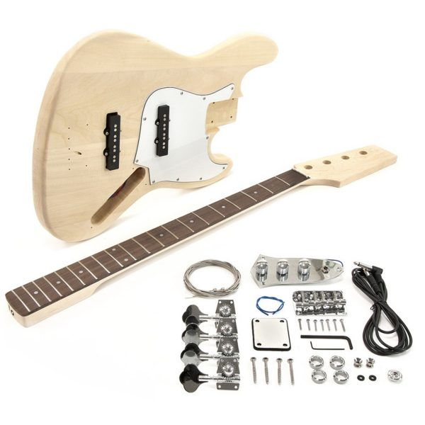 LA-J Electric Bass Guitar DIY Kit