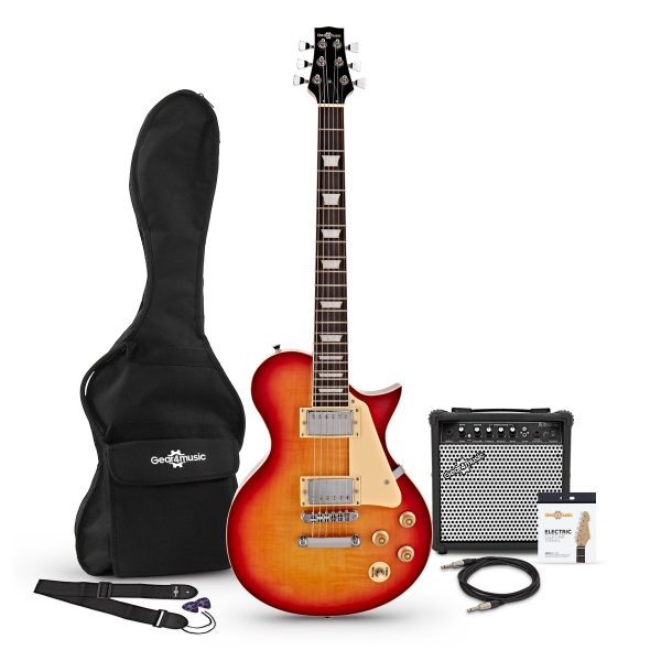 New Jersey Electric Guitar + 15W Amp Pack Sunburst 5060166240196 012EAMP