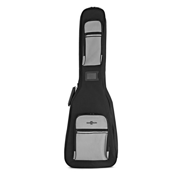 Deluxe Padded Bass Guitar Gig Bag by Gear4music 5060218383741 K-150-BLACK/GREY