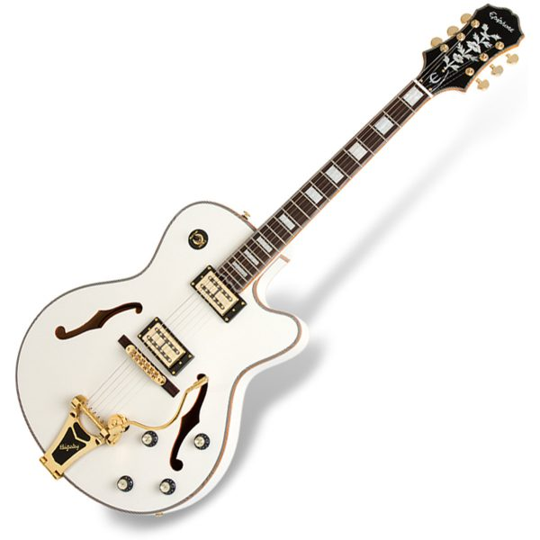 Epiphone Emperor Swingster Royale White 711106326412 ETS2PWGB3
