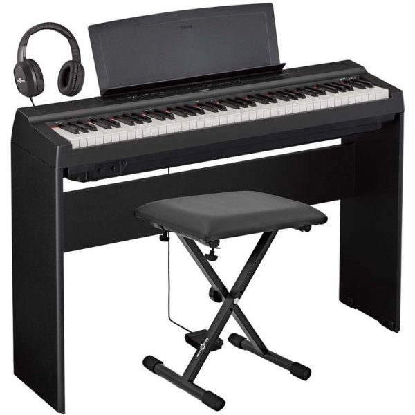 Yamaha P121 Digital Piano Package Black NP121BUK-Pack090121 4957812630290