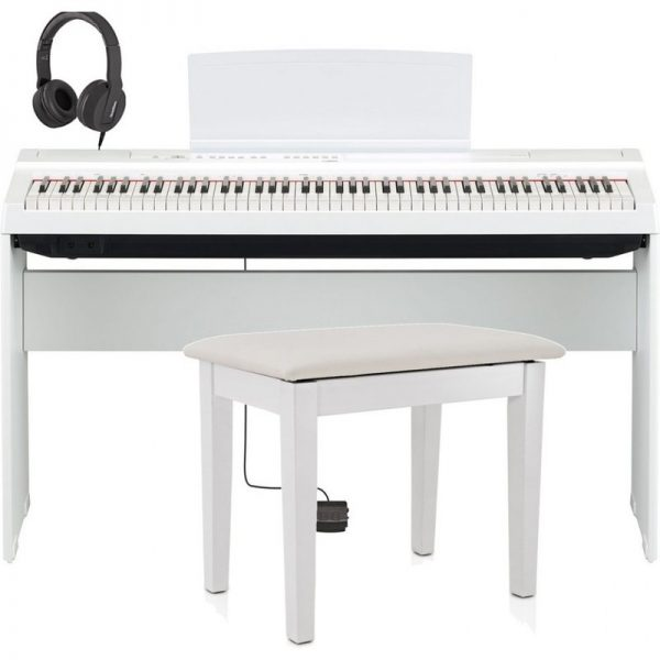 Yamaha P125 Digital Piano Package White NP125WH-PACK090121 4957812624824