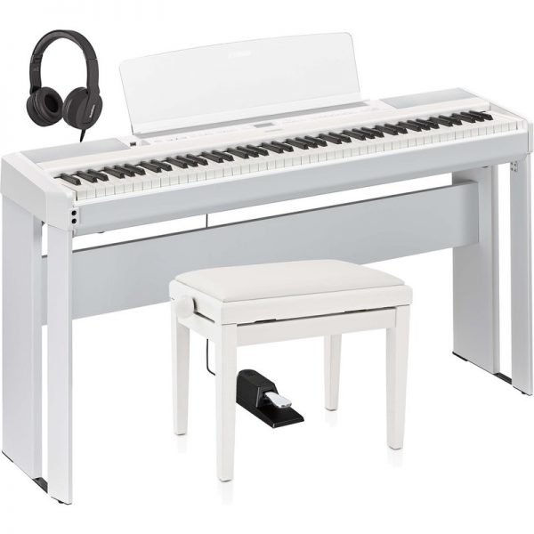 Yamaha P515 Digital Piano Package White NP515WHUK-Pack090121 4957812629775