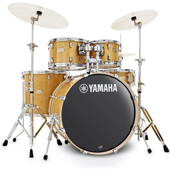 Yamaha Stage Custom 22 5 Piece Shell Pack w Hardware Natural Wood JSBP2F5NW+HW680W090121 4957812547437