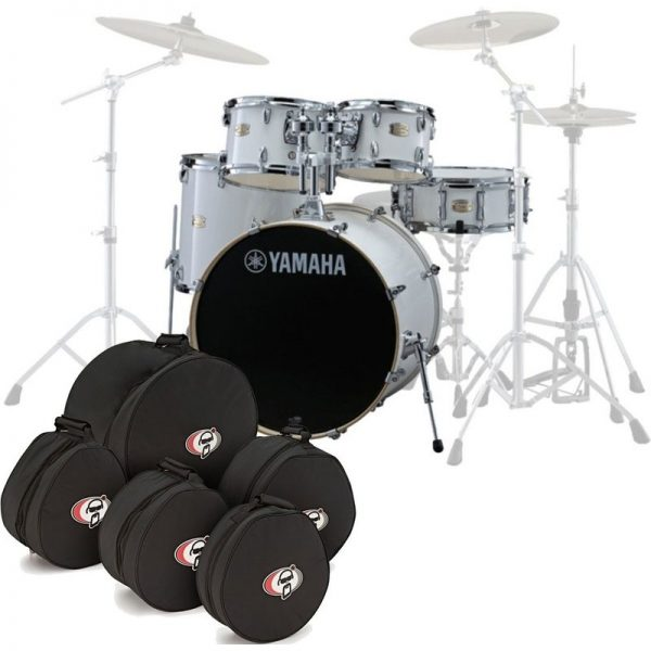 Yamaha Stage Custom Birch 20 5pc Shell Pack w/Bags Pure White JSBP0F5PWH-BGS090121 4957812547499