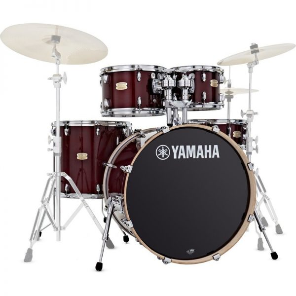 Yamaha Stage Custom Birch 22 5pc Shell Pack Cranberry Red JSBP2F5CR090121 4957812547413