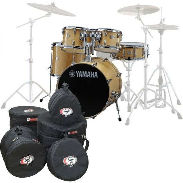 Yamaha Stage Custom Birch 22 5pc Shell Pack w/Bags Natural Wood JSBP2F5NW-BGS090121 4957812547420