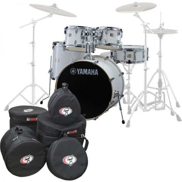 Yamaha Stage Custom Birch 22 5pc Shell Pack w/Bags Pure White JSBP2F5PWH-BGS090121 4957812547444