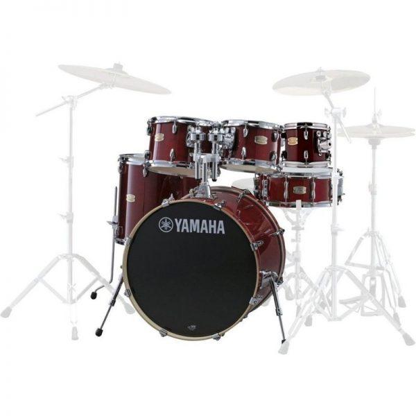 Yamaha Stage Custom Birch 22 6pc Shell Pack Cranberry Red JSBP2F5CR+8090121 4957812547413