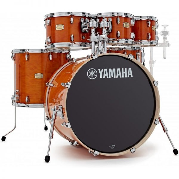 Yamaha Stage Custom Birch 22 6pc Shell Pack Honey Amber JSBP2F5HA+8090121 4957812547437