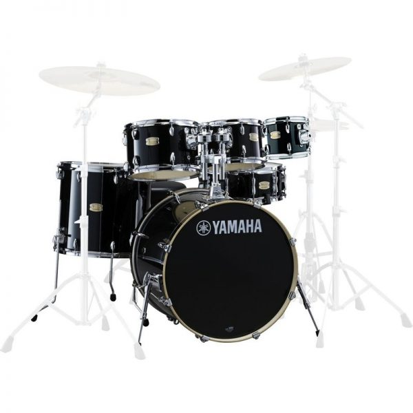 Yamaha Stage Custom Birch 22 6pc Shell Pack Raven Black JSBP2F5RBL+8090121 4957812547406