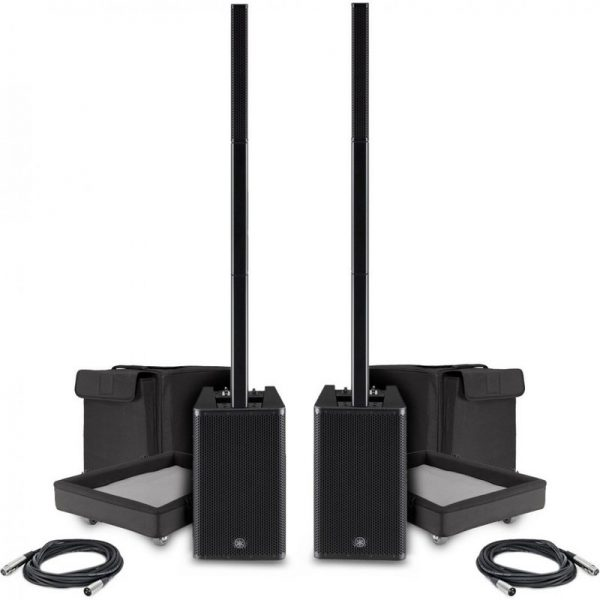 Yamaha Stagepas 1K Column PA System Pair with Free Cables CSTAGEPAS1KUK-PAIR090121 4957812645195