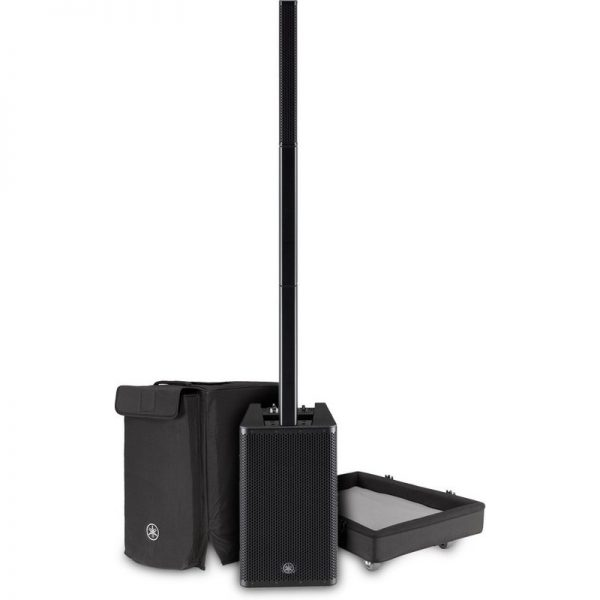 Yamaha Stagepas 1K Column PA System with Transport Dolly CSTAGEPAS1KUK-DOLLY090121 4957812645195