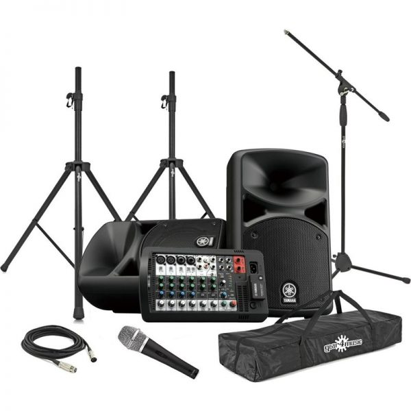 Yamaha Stagepas 400BT Portable PA System Vocal Performance Package CSTAGEPAS400BUK-VOCAL090121 4957812624596