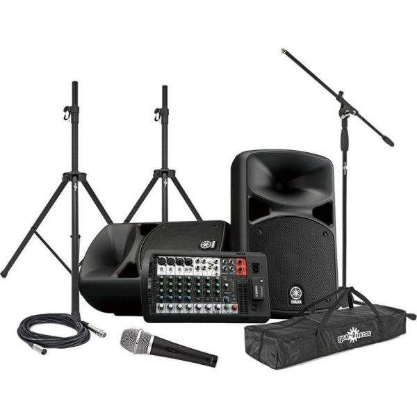 Yamaha Stagepas 600BT Portable PA System Vocal Performance Package CSTAGEPAS600BUK-VOCAL090121 4957812624671