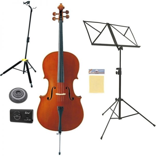 Yamaha VC5S Student Cello Full Size Beginners Pack KVC5S44-Pack090121 4957812330350