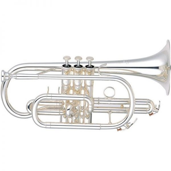 Yamaha YCR6330 Professional Cornet with Silver Plated Finish BYCR6330SII090121 4957812022330