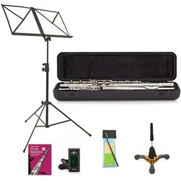 Yamaha YFL212 Student Model Flute Package Sterling Silver Lip Plate BYFL212SL-Pack090121 4957812595810