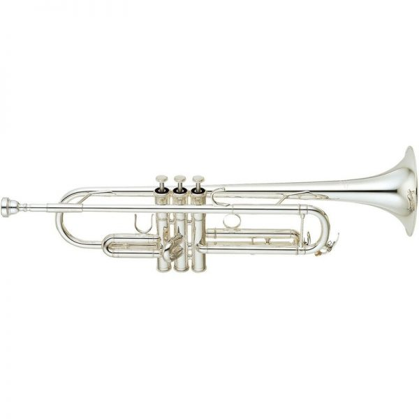 Yamaha YTR-6345GS Large Bore Bb Trumpet Silver Plated BYTR6345GS090121 4957812021982