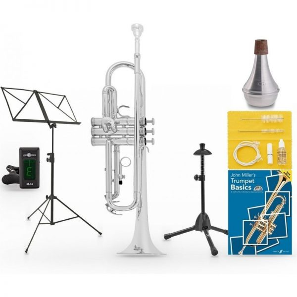 Yamaha YTR2330S Student Trumpet Beginners Pack BYTR2330S-Pack090121 86792961255