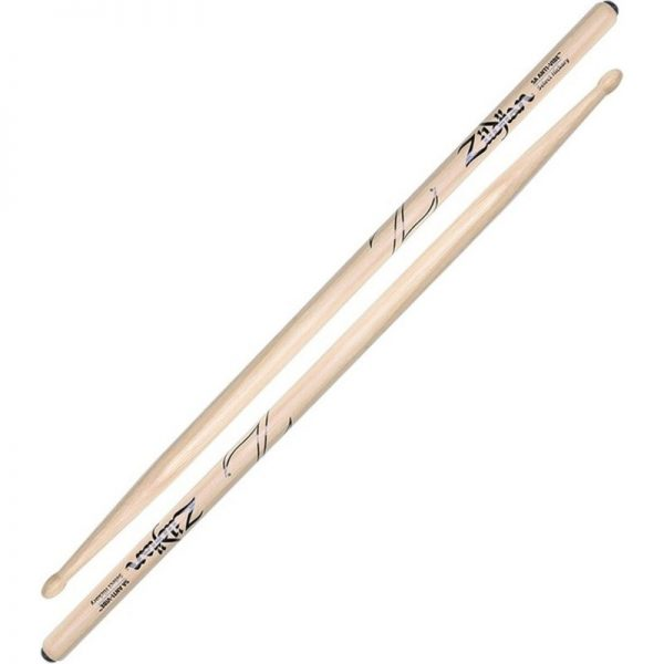 Zildjian 5A ANTI-VIBE Wood Tip Drumsticks Z5AA090121 642388317303