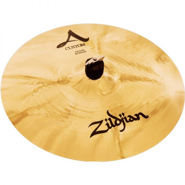 Zildjian A Custom 16 Crash Cymbal Brilliant Finish A20514090121 642388107157