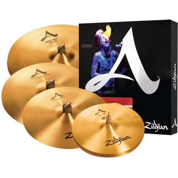 Zildjian A Cymbal Set with Free 18 Medium-Thin Crash A391090121 642388311813