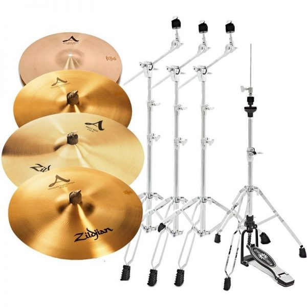Zildjian A Cymbal Set with Stands A391-HW090121