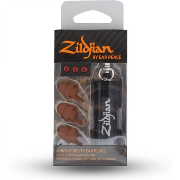 Zildjian Ear Plugs by EarPeace Dark ZPLUGSD090121 642388313916