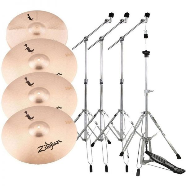 Zildjian I Family Pro Gig Pack with Stands ILHPRO-HW090121
