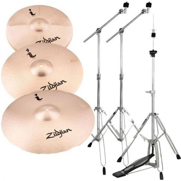 Zildjian I Family Standard Cymbal Set with Stands ILHSTD-HW090121