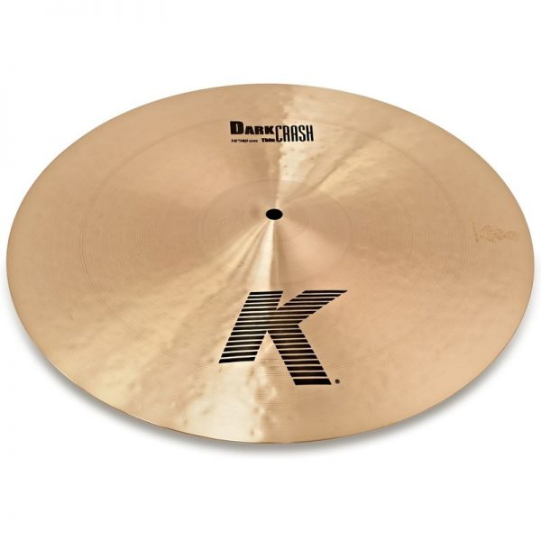 Zildjian K 16 Thin Dark Crash Cymbal K0902090121 642388110782