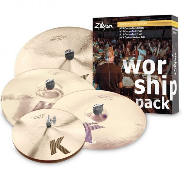 Zildjian K Custom Worship Pack Cymbal Set KC0801W090121 642388316801