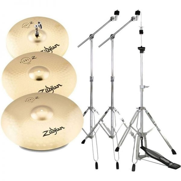 Zildjian Planet Z Complete Pack Cymbal Set with Stands ZP4PK-HW090121