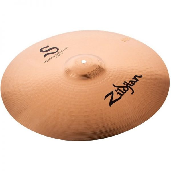 "Zildjian S Family 18"" Medium Thin Crash Cymbal S18MTC090121 642388315057"