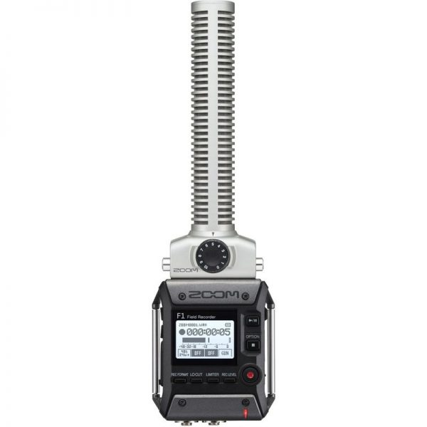 Zoom F1-SP Field Recorder with Shotgun Microphone ZRCF1-SP090121 4515260018888