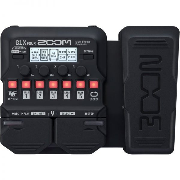 Zoom G1X FOUR Multi-Effects Pedal G1X FOUR090121 4515260020331