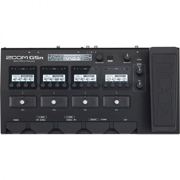 Zoom G5n Multi-Effects Processor for Guitarists ZOOM-G5N090121 4515260015696