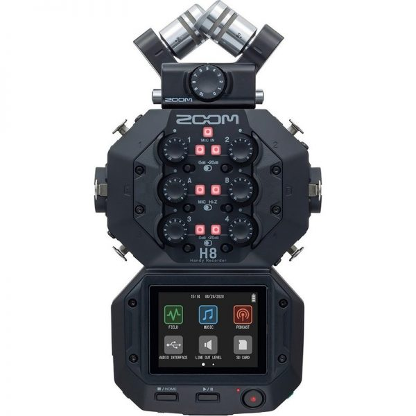 Zoom H8 Field Recorder ZOOM-H8090121 4515260023073