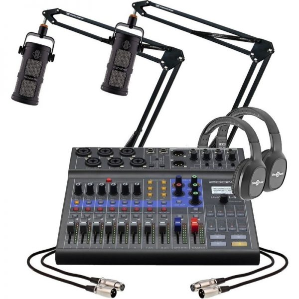Zoom L8 Podcasting Bundle with Sontronics Podcast Pro LIVETRACK-L8-ST-PODCAST-PRO090121 4515260021215