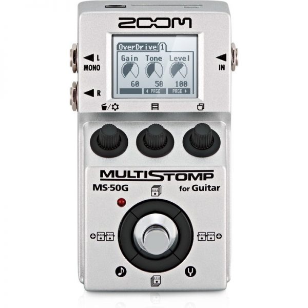 Zoom MS-50G MultiStomp Pedal MS-50G090121 4515260011001