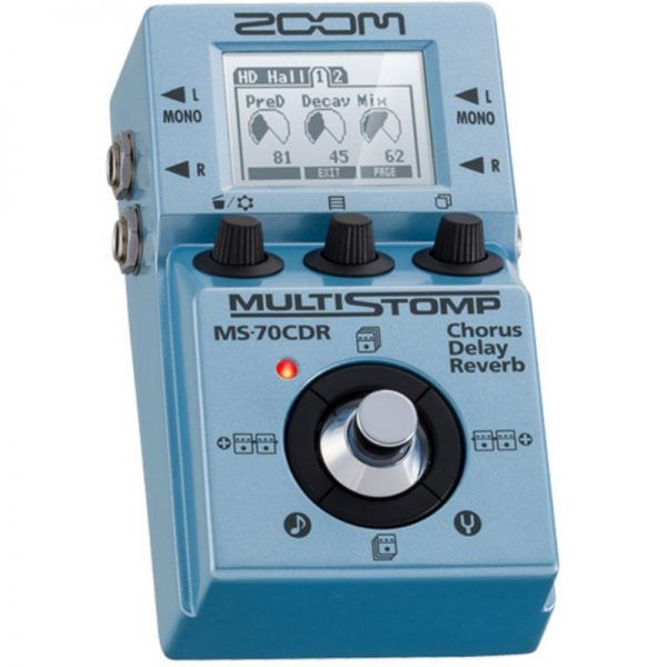 Zoom MultiStomp MS-70CDR Multi Effects Pedal MS-70CDR090121 4515260013609