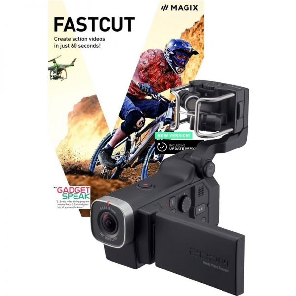 Zoom Q8 Handy Video Recorder with Fastcut Video Editing Software ZOOM-Q8-FASTCUT090121 4515260014743