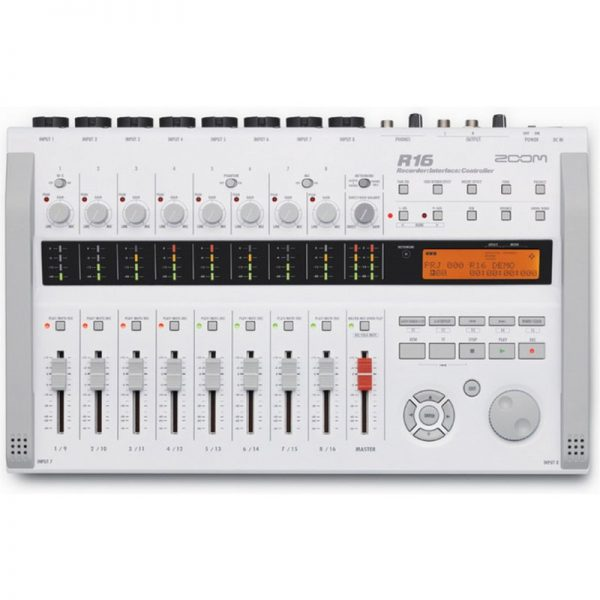 Zoom R16 Multitrack Recorder Audio Interface & Controller R16090121 4515260008254