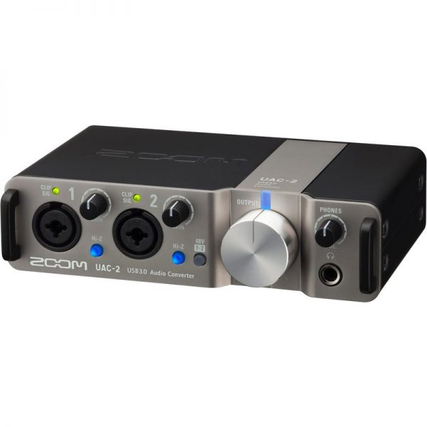 Zoom UAC-2 2-In/2-Out USB 3.0 Audio Interface UAC-2090121 4515260014446